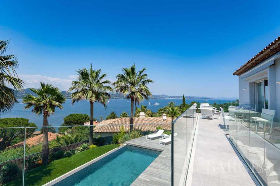 GASSIN - Contemporary house near Saint-Tropez, sea view picture 18