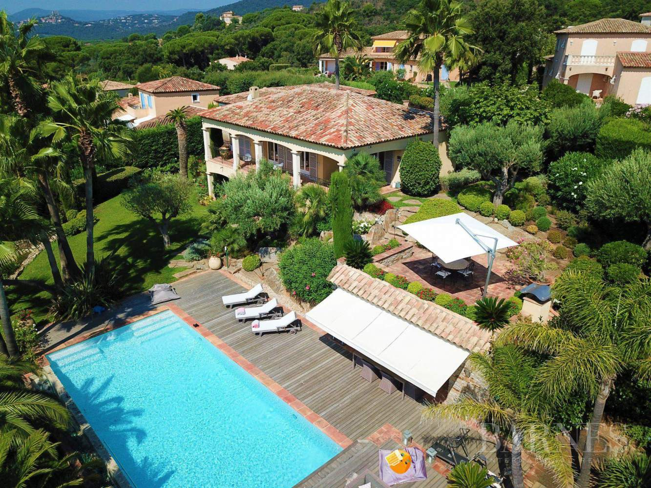 GRIMAUD - Beautiful villa with views of the countryside picture 7