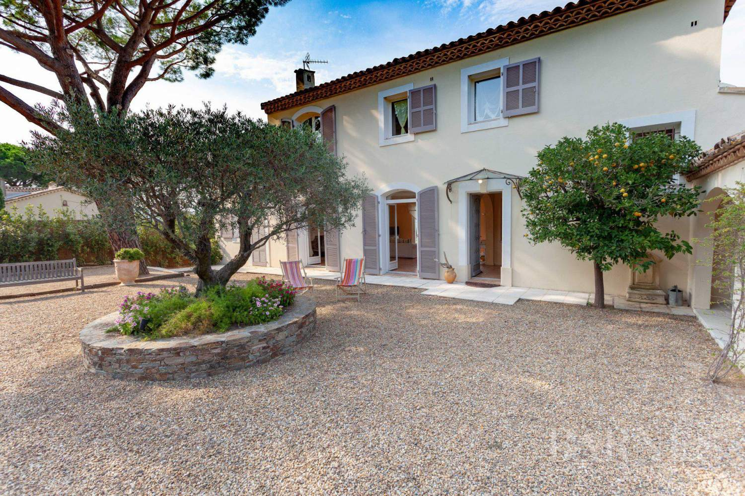 GASSIN - PANORAMIC VIEW SEA AND VILLAGE SAINT-TROPEZ picture 18