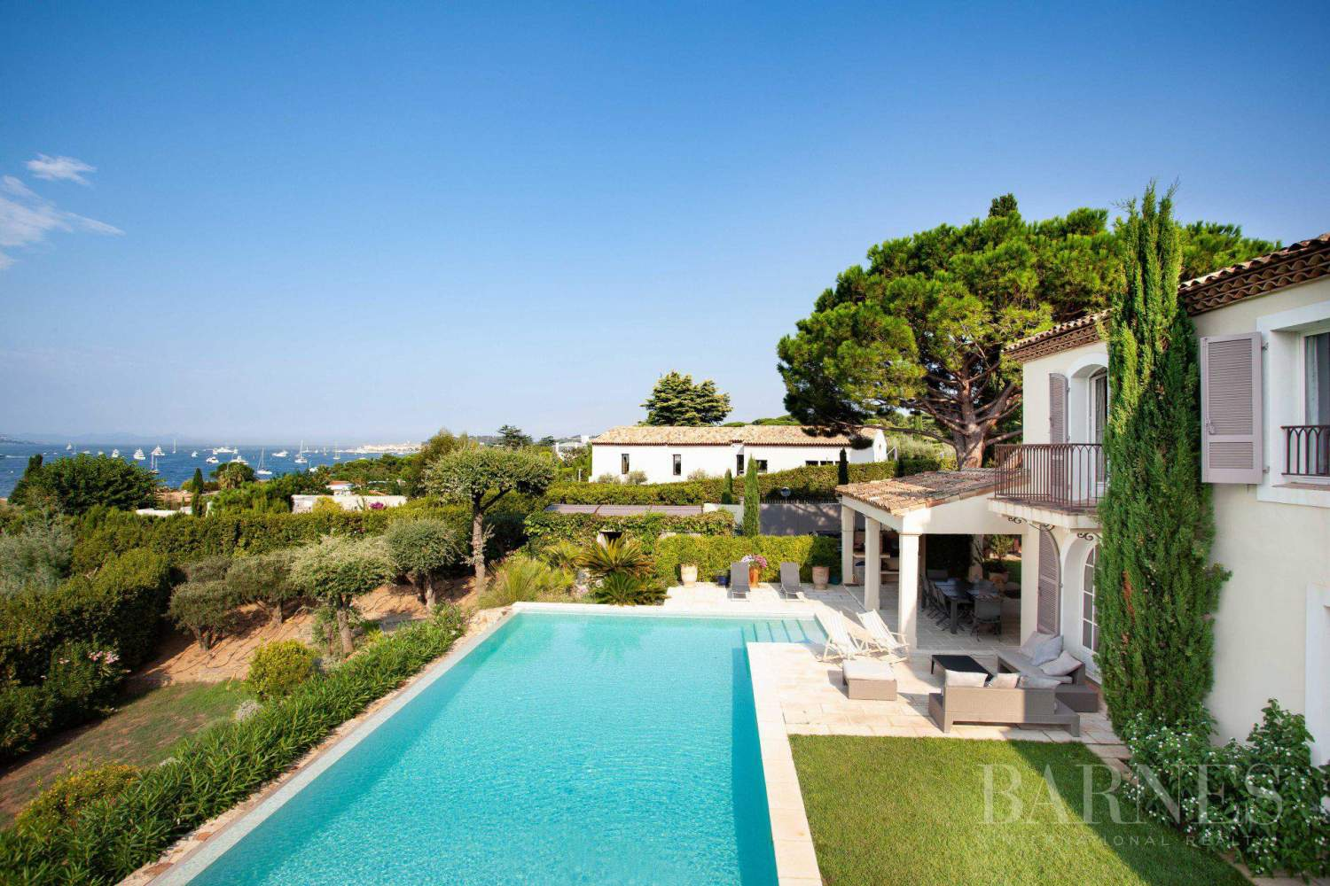 GASSIN - PANORAMIC VIEW SEA AND VILLAGE SAINT-TROPEZ picture 4