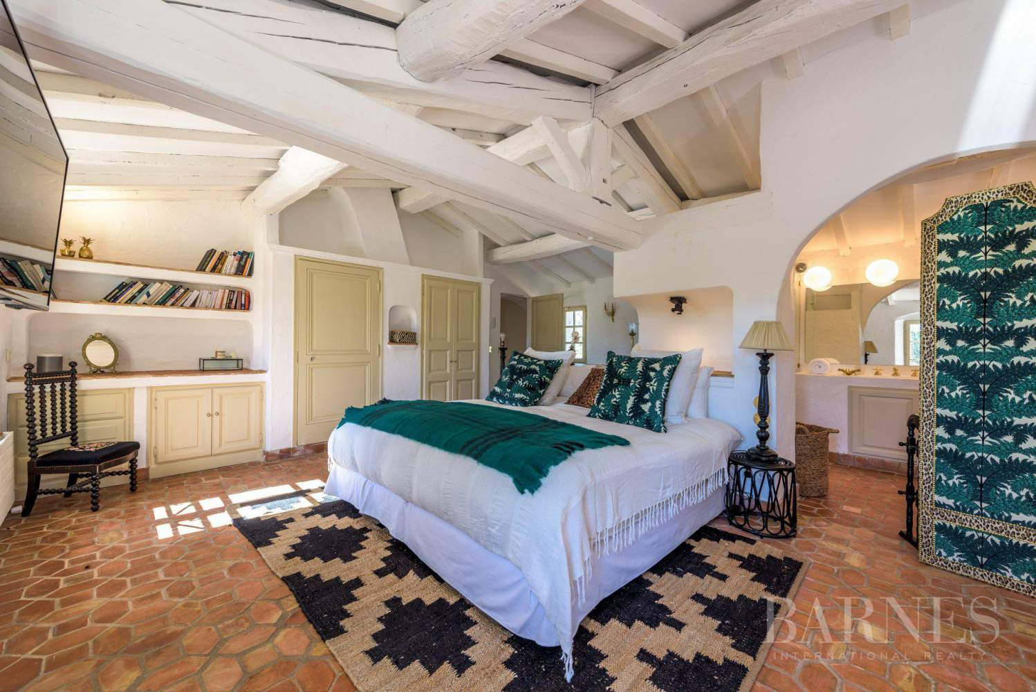 GOLFE DE SAINT-TROPEZ - LA CROIX VALMER - Beautiful Provencal house - 6 bedrooms - Pool picture 12