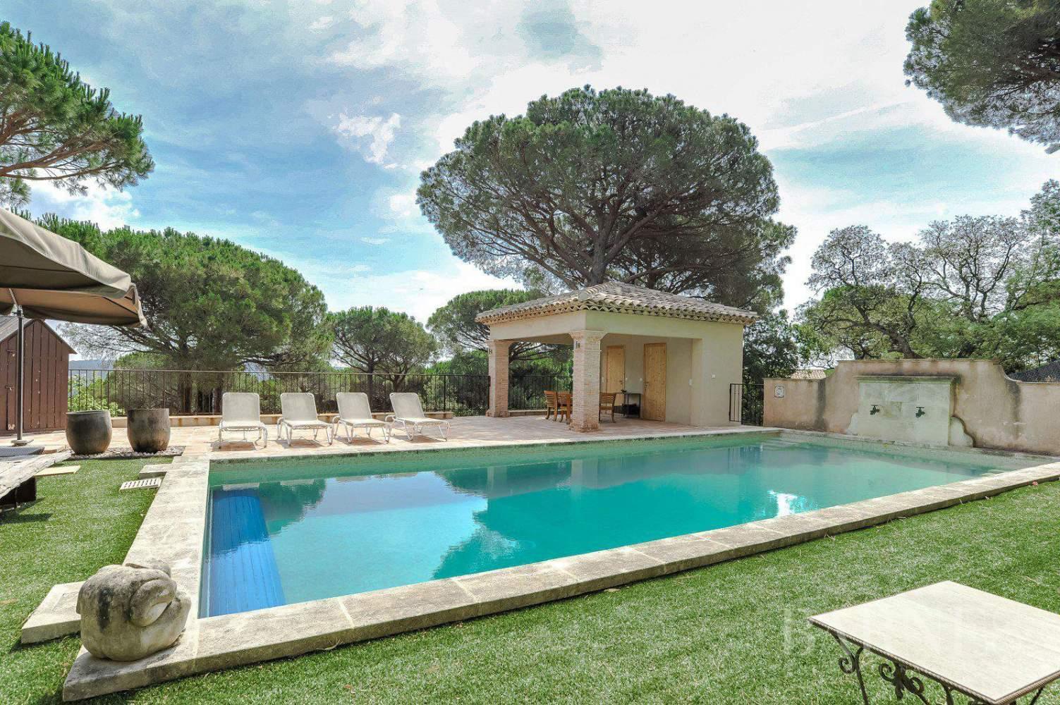 RAMATUELLE - Villa provençale, vue mer, proche de Saint Tropez picture 1