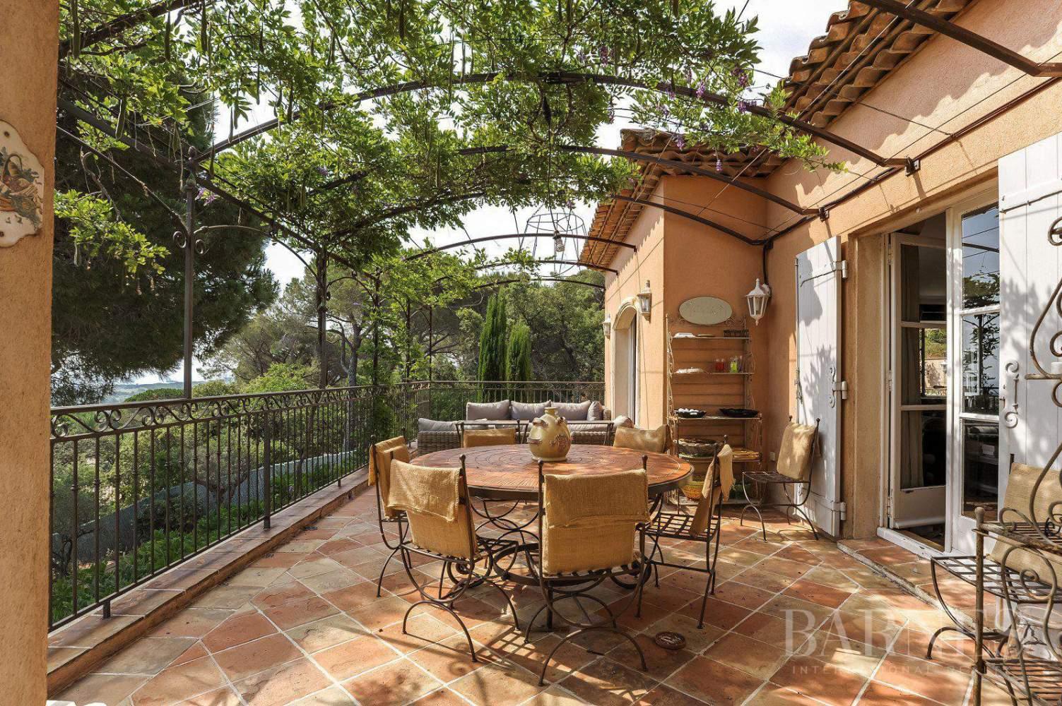 RAMATUELLE - Villa provençale, vue mer, proche de Saint Tropez picture 15