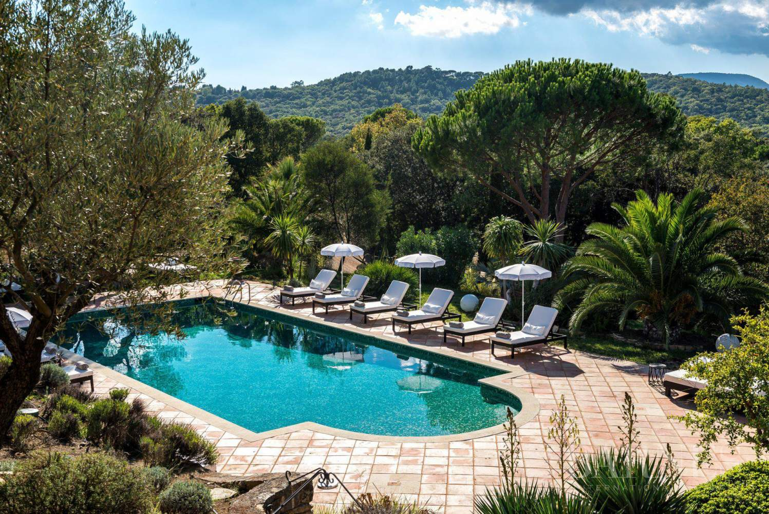 GOLFE DE SAINT-TROPEZ - LA CROIX VALMER - Beautiful Provencal house - 6 bedrooms - Pool picture 2
