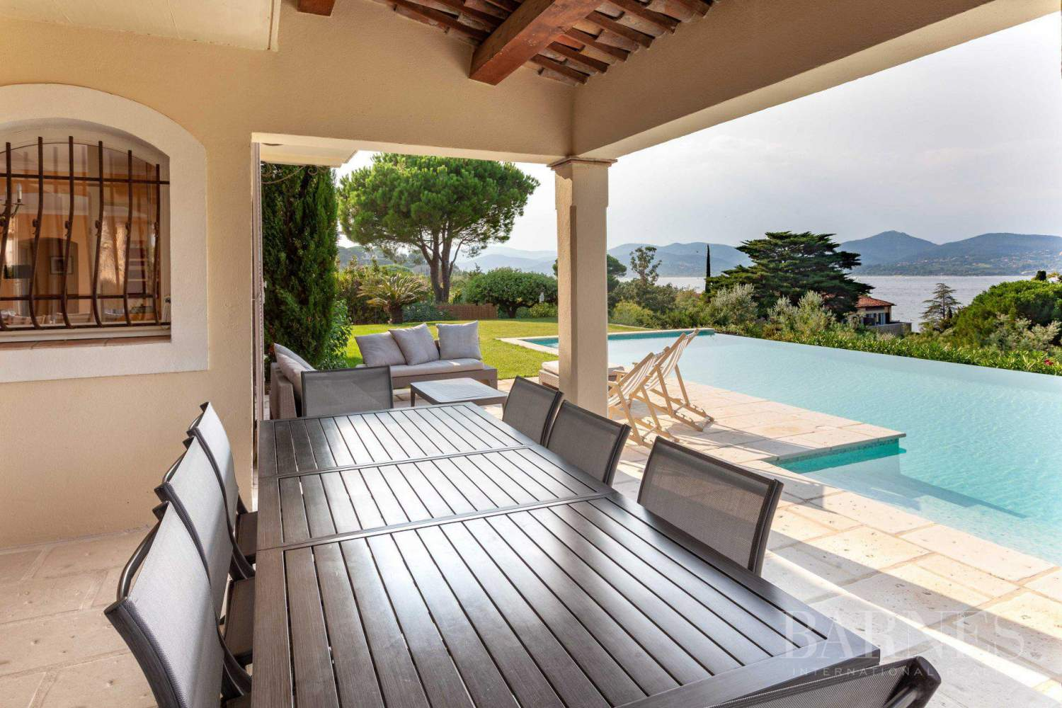 GASSIN - PANORAMIC VIEW SEA AND VILLAGE SAINT-TROPEZ picture 7