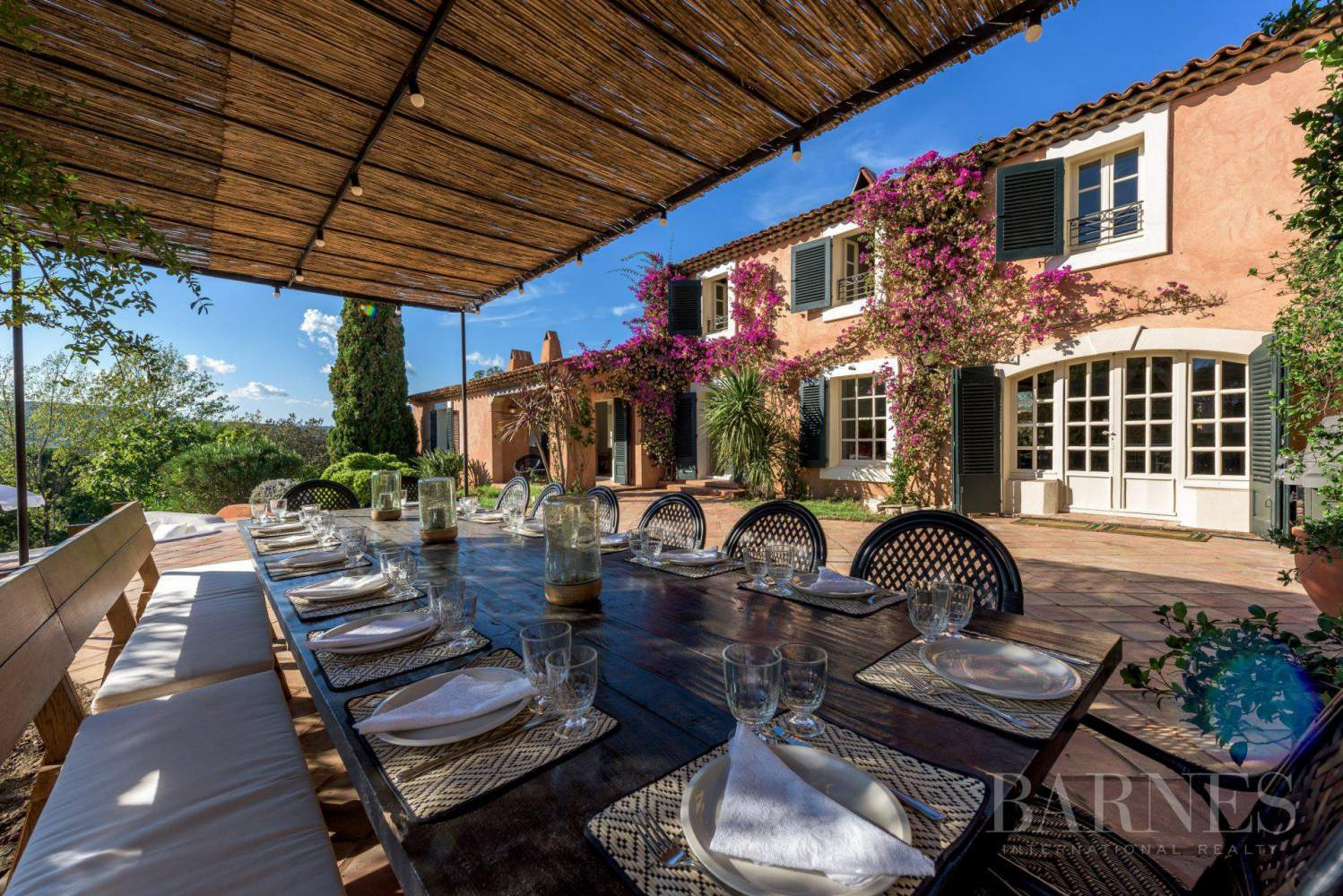 GOLFE DE SAINT-TROPEZ - LA CROIX VALMER - Beautiful Provencal house - 6 bedrooms - Pool picture 4