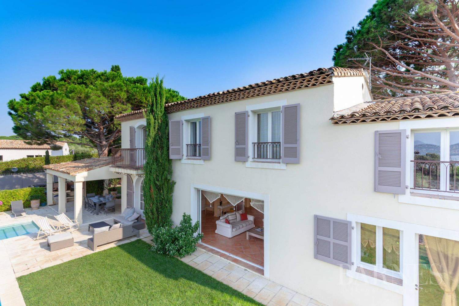 GASSIN - PANORAMIC VIEW SEA AND VILLAGE SAINT-TROPEZ picture 5