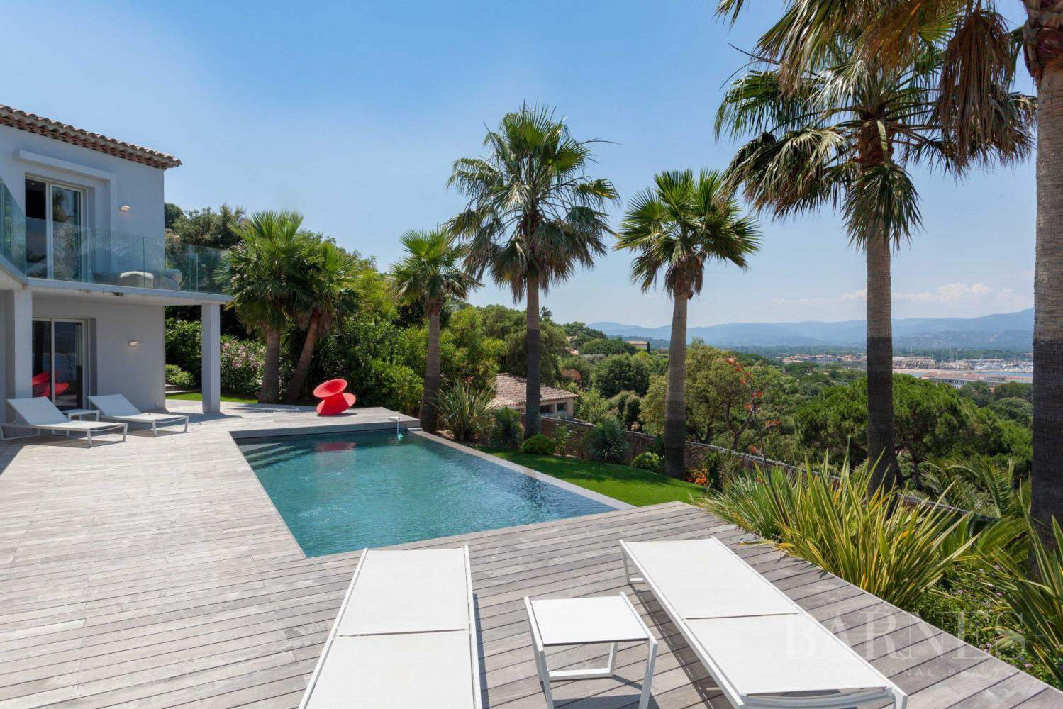 GASSIN - Contemporary house near Saint-Tropez, sea view picture 2