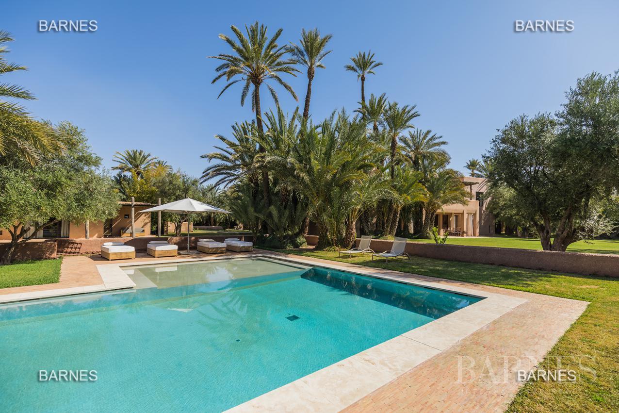 propriété de style contemporaine dans la palmeraie  de marrakech sur un parc de 3 hectares de palmier dattier picture 5