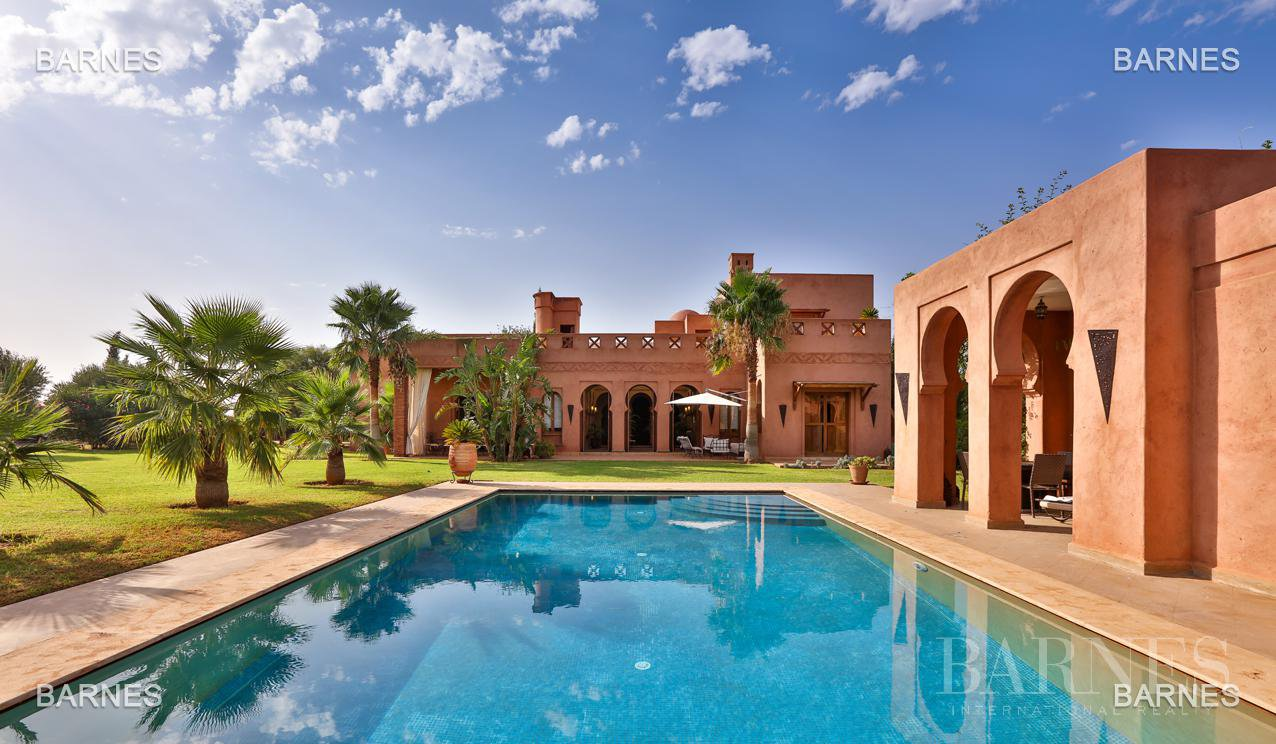 Very beautiful Moroccan villa at the end of a program of ...