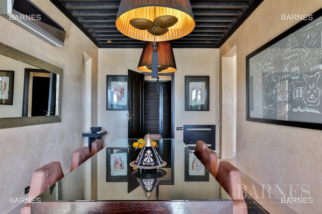 Beautiful property in first line of golf Amelkis . An accomplishment combining modern and crafts marocain.berthier amelkis picture 5