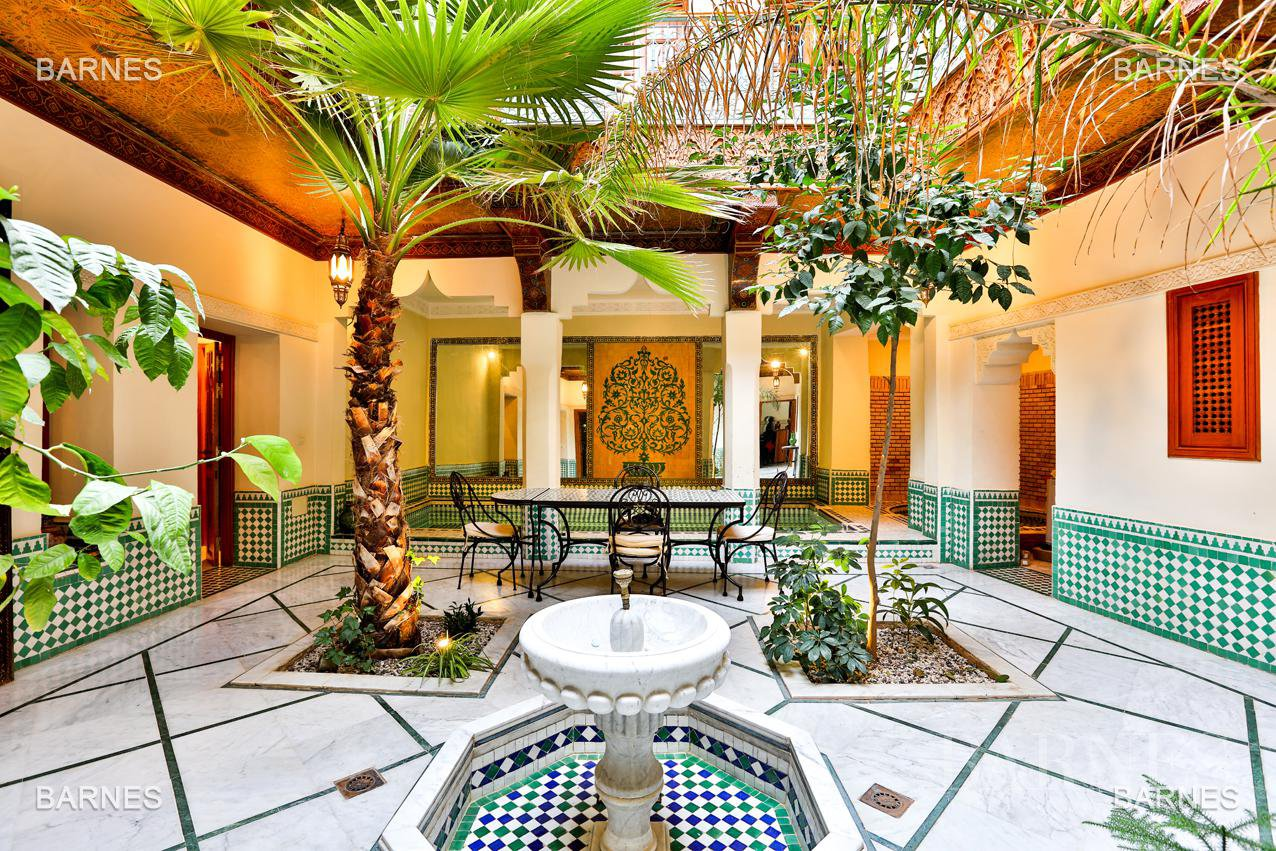 Riad , 6 suites, 6 baths, living room, fireplace , dining room , large pool , jacuzzi , patio, terrace, elevator. picture 9