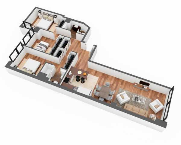 28028 Madrid - Guindalera - Newly built 3 bedroom apartment Madrid  -  ref 3225423 (picture 2)