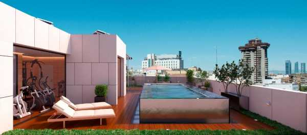 Newly constructed flat with 1 bedroom - Guindalera Madrid  -  ref 3225424 (picture 3)