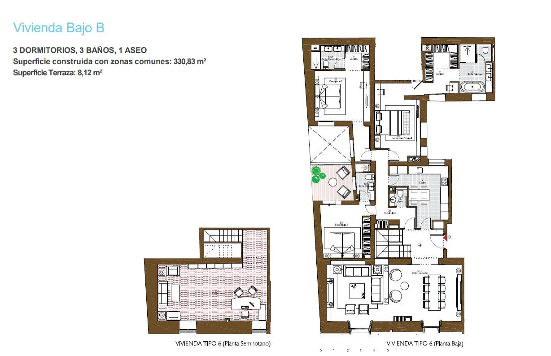 Madrid  - Piso 4 Cuartos 3 Habitaciones - picture 10
