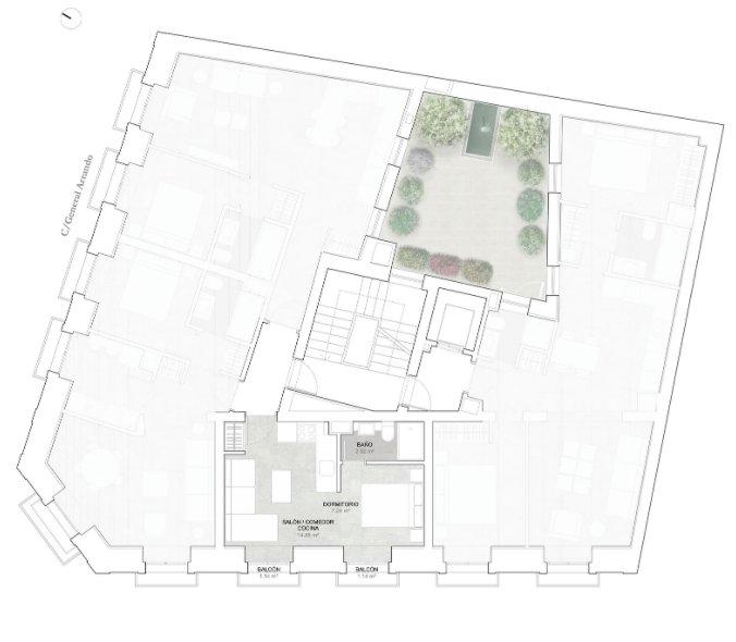 Madrid  - Estudio 1 Cuarto, 1 Habitacion - picture 7
