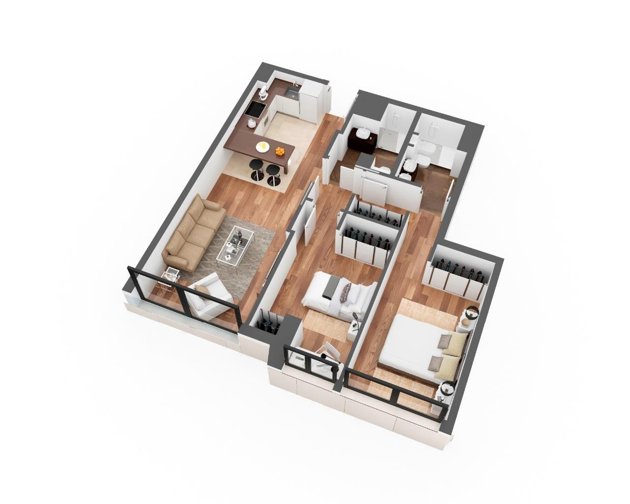 Madrid  - Apartment 1 Bedroom - picture 7