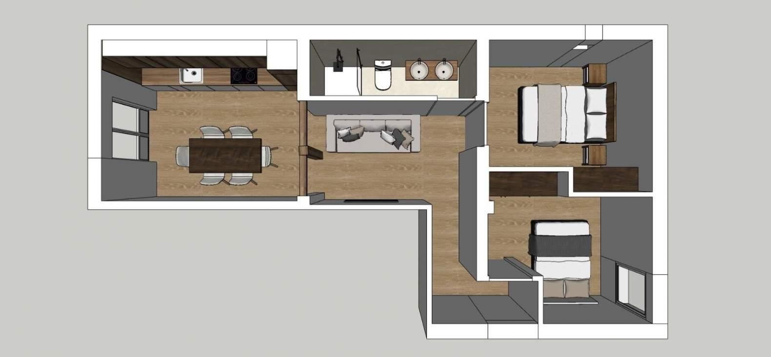 Madrid  - Piso 3 Cuartos 2 Habitaciones - picture 15