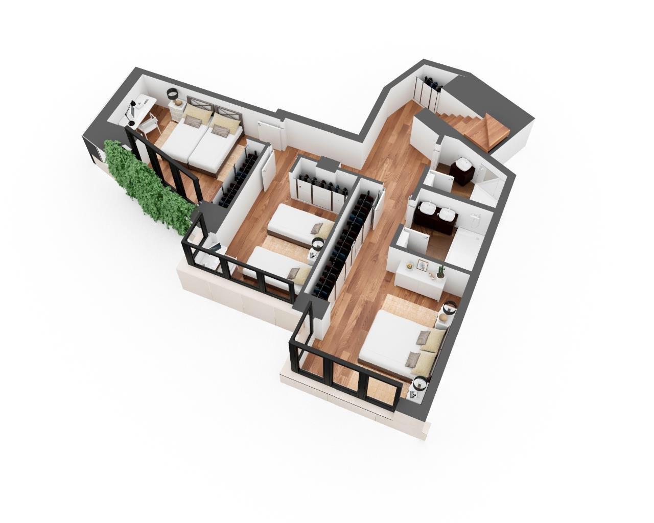 Madrid  - Dúplex 3 Cuartos 3 Habitaciones - picture 7