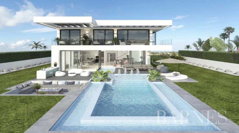 Villa contemporaine de luxe sur plan à Rivera del Sol, Mijas Costa Riviera del Sol