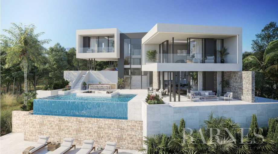 Villa contemporaine de luxe sur plan Marbella El Rosario