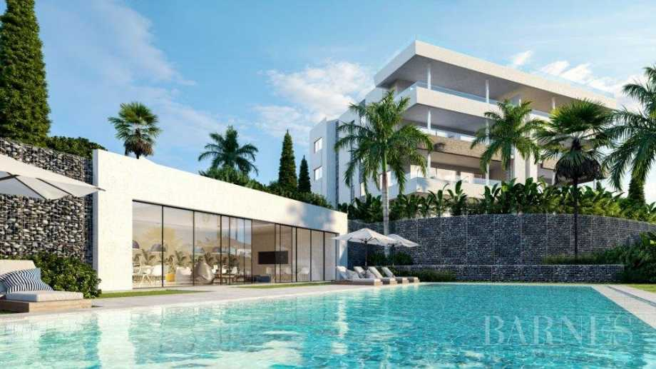Projet résidentiel exclusif avec de belles vues sur le golf et la mer Méditerranée Marbella