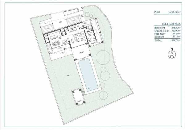 villas ubicadas en parcelas individuales en un número de ubicación privilegiada Marbella  -  ref 4243160 (picture 2)