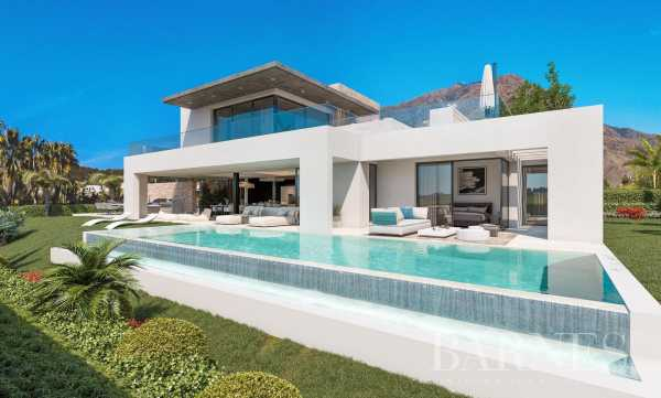 7 contemporary luxury villas with sea views Estepona  -  ref 4026271 (picture 1)