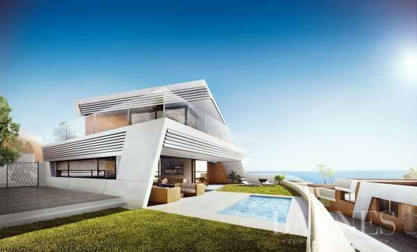 Luxury villas view the golf course and the sea Mijas Costa  -  ref 3635523 (picture 1)