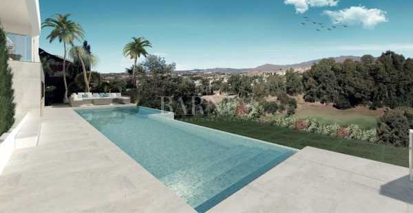 Villa contemporaine de luxe sur plan à Mijas Golf Mijas Costa  -  ref 3601663 (picture 2)