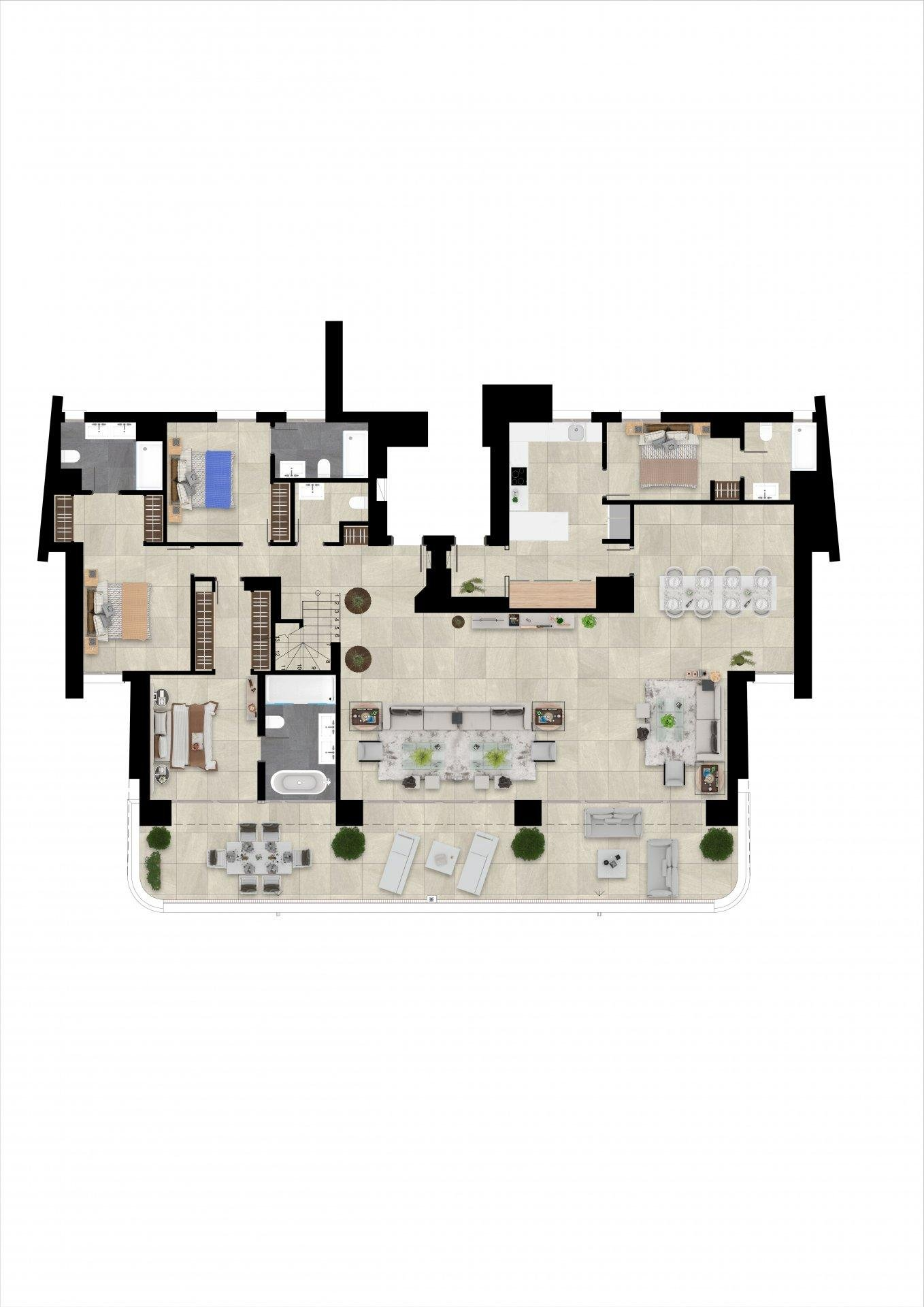 Sotogrande  - Penthouse 4 Bedrooms - picture 9