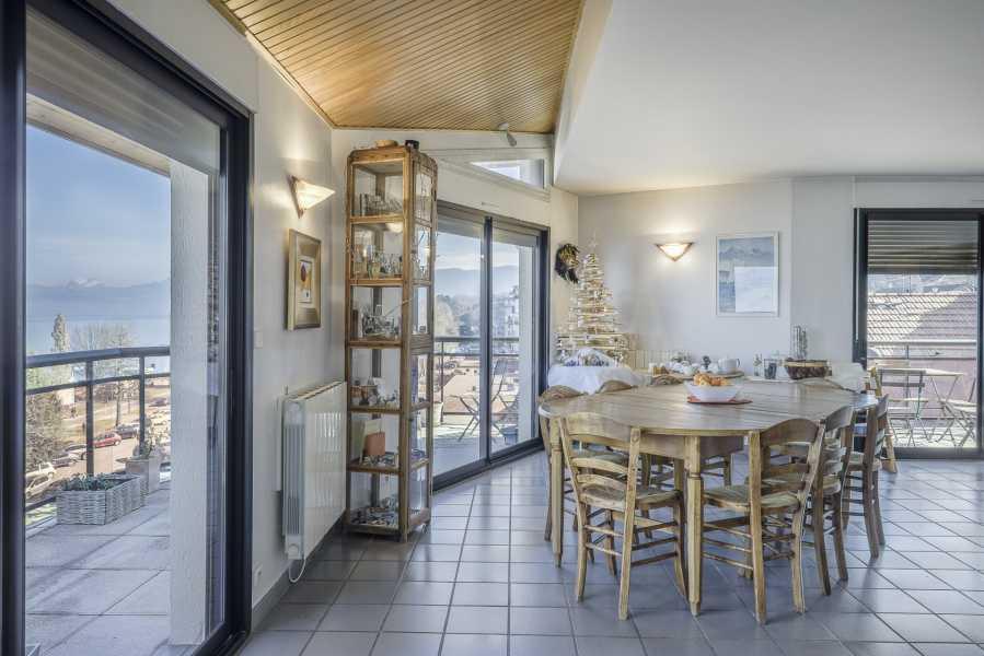 Évian-les-Bains  - Appartement 6 Pièces 4 Chambres