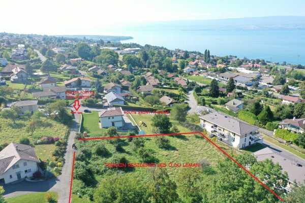 Évian-les-Bains - Programme immobilier Neuf de 12 villas duplex ou triplex de 3 à 5 pièces Évian-les-Bains  -  ref 5986459 (picture 2)