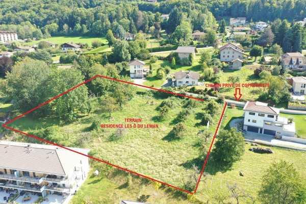 Évian-les-Bains - Programme immobilier Neuf de 12 villas duplex ou triplex de 3 à 5 pièces Évian-les-Bains  -  ref 5986459 (picture 3)