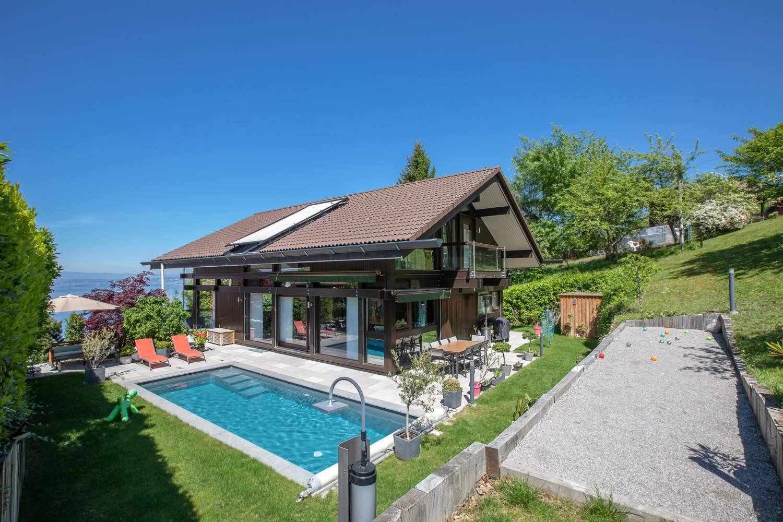 Évian-les-Bains  - Casa 7 Cuartos 4 Habitaciones - picture 1