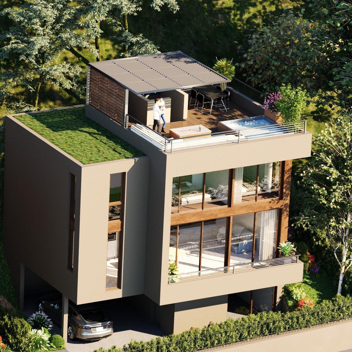 Thonon-les-Bains  - Casa 7 Cuartos 6 Habitaciones - picture 2