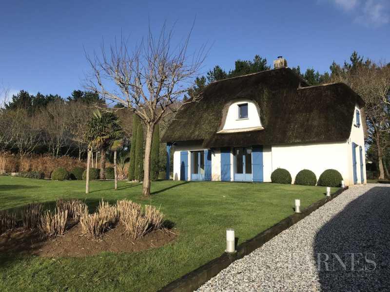 Thatched cottage Saint-Andr�-des-Eaux