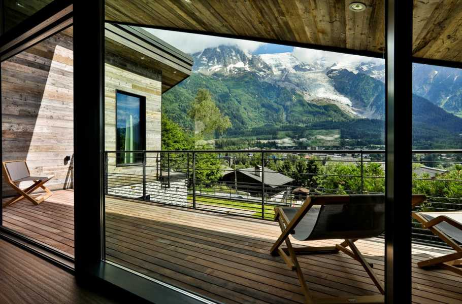 CHAMONIX MONT-BLANC  - Chalet individuel  5 Chambres