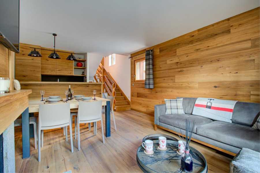 CHAMONIX MONT-BLANC  - Chalet individuel  3 Chambres