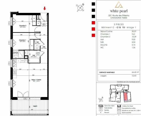 Appartement Chamonix-Mont-Blanc  -  ref 3889157 (picture 3)