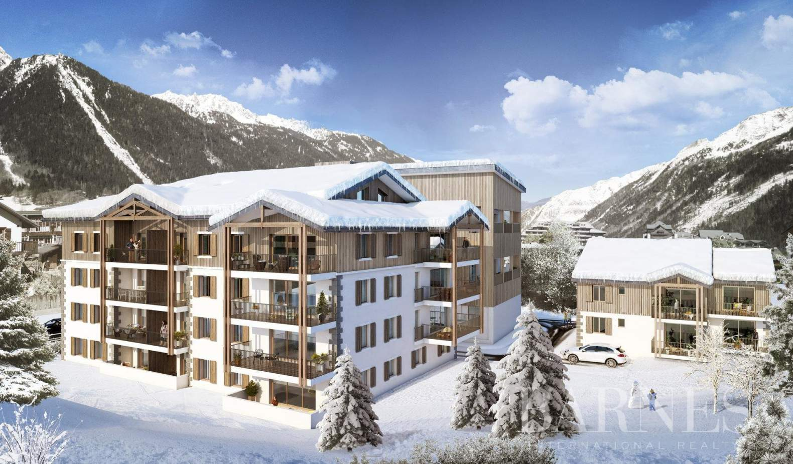 Chamonix-Mont-Blanc  - Appartement 3 Pièces 2 Chambres - picture 2