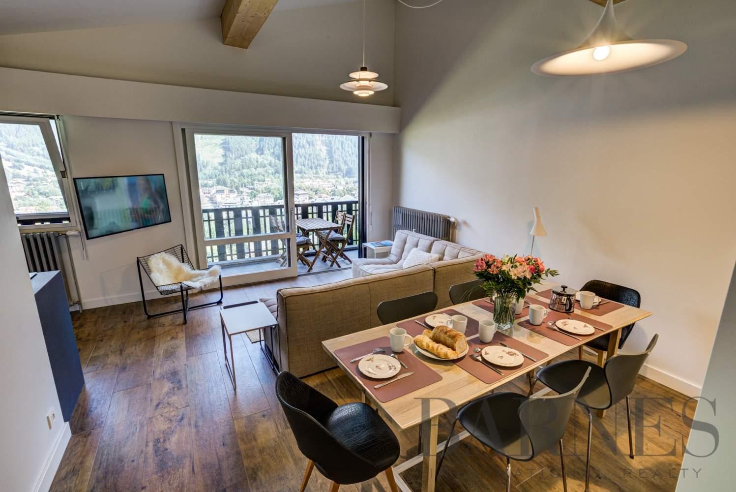 CHAMONIX MONT-BLANC  - Appartement  3 Chambres - picture 2