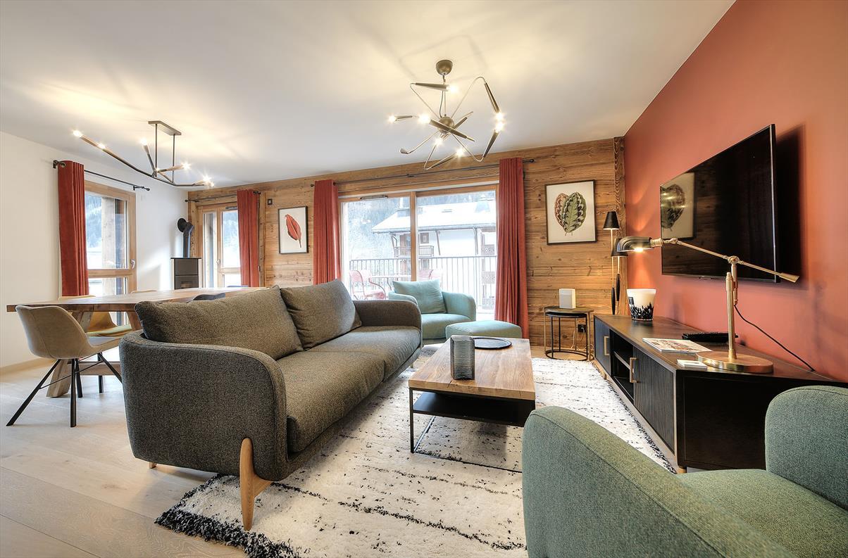 CHAMONIX MONT-BLANC  - Appartement  3 Chambres - picture 1