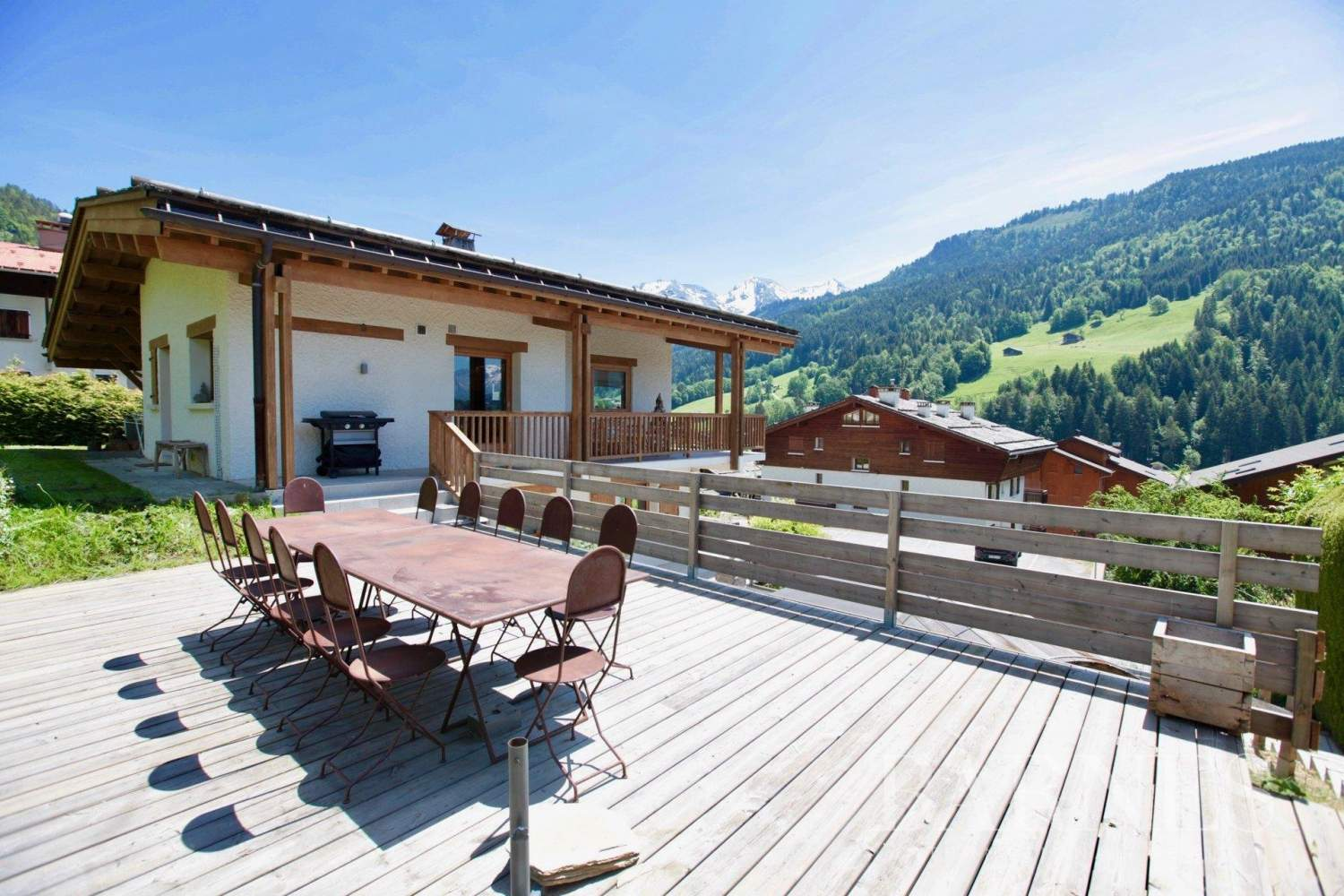 EXCEPTIONAL CHALET IN THE CENTER OF GRAND-BORNAND picture 4