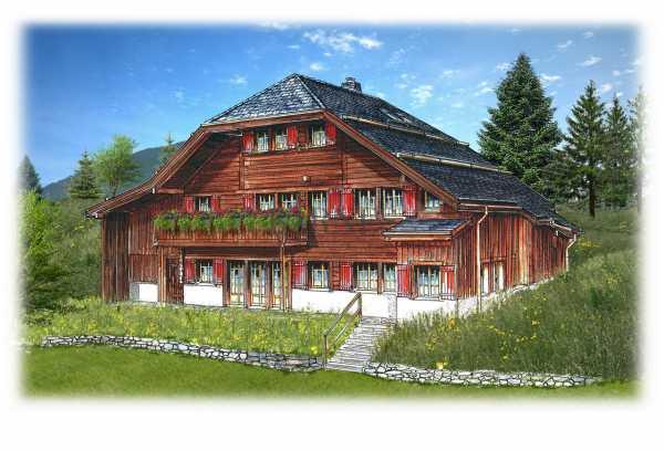 Rougemont  - Chalet 6 Pièces 3 Chambres