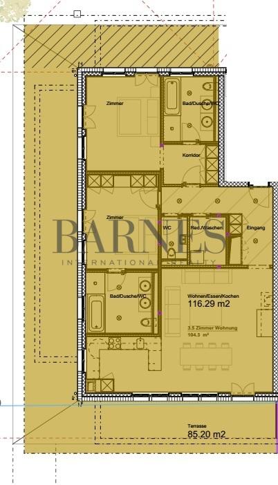 Saanen  - Appartement 3.5 Pièces 2 Chambres - picture 13
