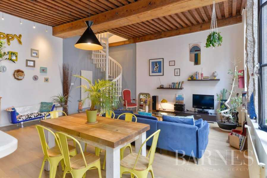 Lyon  - Duplex 4 Pièces 3 Chambres