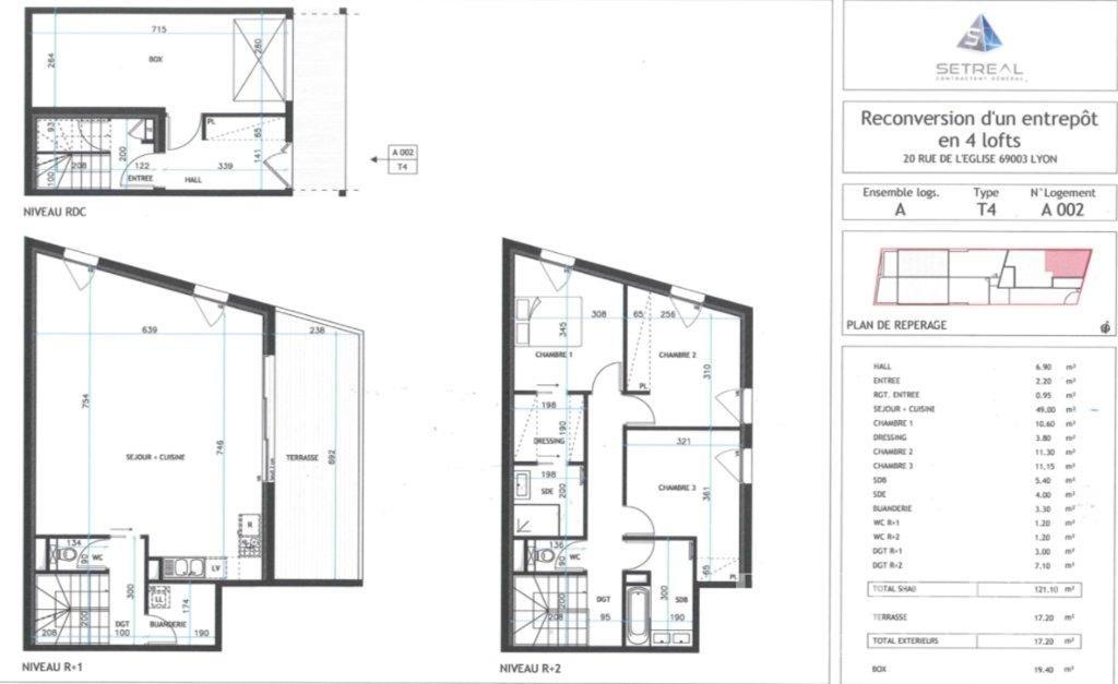 Lyon  - Appartement 5 Pièces 4 Chambres - picture 2