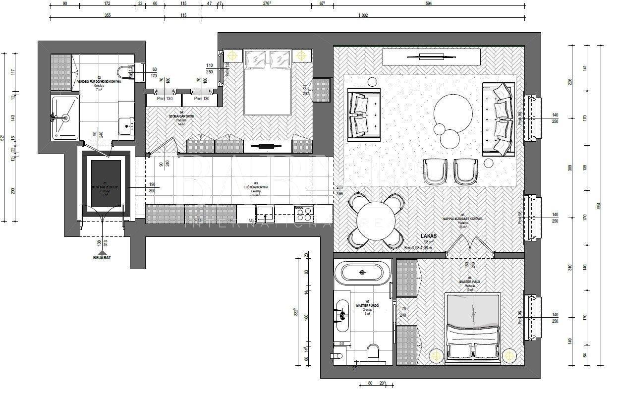 Budapest V. kerülete  - Appartement 3 Pièces 2 Chambres - picture 13
