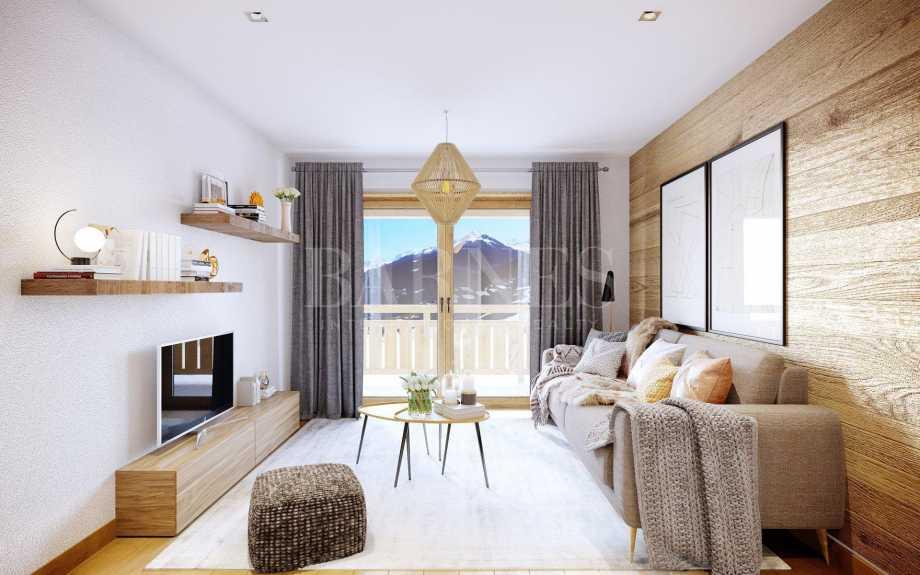 Les Avanchers-Valmorel  - Housing estate